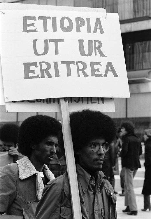 Demonstration för Eritrea