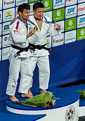 16-11-2018 NED: Grand Prix The Hague 2018, Den Haag<br /> -60 KG - MGL  DASHDAVAA Amartuvshin Gold, JPN Aoki, D silver
