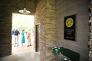 The Rotary Club dedicates a pavilion at Pat Lamar Park in Oxford, Miss. on Tuesday, June 1, 2010.