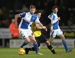 Bristol Rovers' Matt Harrold attacks late on- Photo mandatory by-line: Matt Bunn/JMP - Tel: Mobile: 07966 386802 23/11/2013 - SPORT - Football - Burton - Pirelli Stadium - Burton Albion v Bristol Rovers - Sky Bet League Two