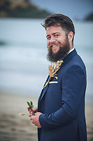 Wharekaho Wedding photos for Blake & Ele at sunset Simpsons Beach wedding photos by Felicity Jean Photography Coromandel Wedding Photographer Whitianga Photographer