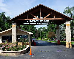 Entrance to Fetullah Gulen's Pocono Mountain compound Saturday, July 16th, 2016 in Saylorsburg, Pennsylvania.