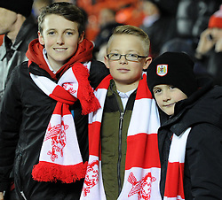 Spectators at the Johnstone's Paint Trophy south area final second leg match between Bristol City and Gillingham at Ashton Gate on 29 January 2015 in Bristol, England - Photo mandatory by-line: Paul Knight/JMP - Mobile: 07966 386802 - 29/01/2015 - SPORT - Football - Bristol - Ashton Gate Stadium - Bristol City v Gillingham - Johnstone's Paint Trophy