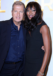 Sept. 13, 2015 - New York City, NY, USA - September 13, 2015 New York City....Mario Testino and Naomi Campbell attending the new Gold Collection fragrance launch hosted by Michael Kors at Top of The Standard Hotel on September 13, 2015 in New York City  (Credit Image: © Nancy Rivera/Ace Pictures via ZUMA Press)