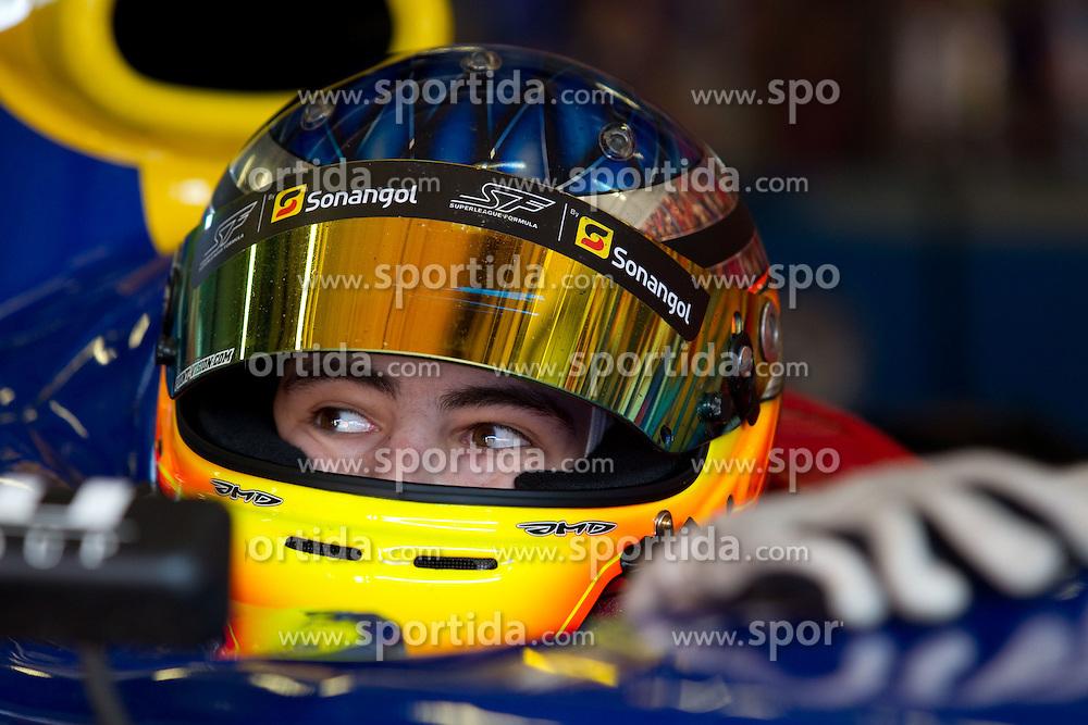 26.06.2010, Nürburgring, Nürburg, GER, Superleague Formula, im Bild von links Max Wissel, Team FC Basel, EXPA Pictures © 2010, PhotoCredit: EXPA/ A. Neis / SPORTIDA PHOTO AGENCY