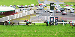 Tuamhain and jockey Shane Crosse win the Barna Recycling Handicap during day three of the October Festival at Galway Racecourse.