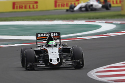Nico Hulkenberg (GER) Sahara Force India F1 VJM09.<br /> 28.10.2016. Formula 1 World Championship, Rd 19, Mexican Grand Prix, Mexico City, Mexico, Practice Day.<br />  Copyright: Bearne / XPB Images / action press