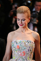 Nicole Kidman. attending the gala screening of The Great Gatsby at the Cannes Film Festival on 15th May 2013, Cannes, France.