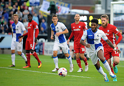 Ellis Harrison of Bristol Rovers - Mandatory by-line: Neil Brookman/JMP - 11/08/2016 - FOOTBALL - Memorial Stadium - Bristol, England - Bristol Rovers v Cardiff City - EFL League Cup