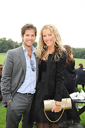 JACK & KATE FREUD at the 4th Jaeger-LeCoultre Polo Cup in aid of the James Wentworth-Stanly Memorial Fund held at Coworth Park, Ascot, Berkshire on 10th September 2010.