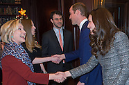 KATE Middleton ,William & Clintons Attend Reception