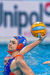 Maud Megens #2of Netherlandsduring the semi final Netherlands vs Russia on LEN European Aquatics Waterpolo January 23, 2020 in Duna Arena in Budapest, Hungary