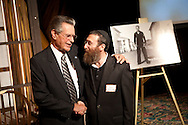 Bill Kolender and Rabbi Piekarsky