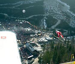 17.03.2012, Planica, Kranjska Gora, SLO, FIS Ski Sprung Weltcup, Team Skifliegen, im Bild Kamil Stoch (POL),   during the FIS Skijumping Worldcup Flying Hill Team, at Planica, Kranjska Gora, Slovenia on 2012/03/17. EXPA © 2012, PhotoCredit: EXPA/ Oskar Hoeher.