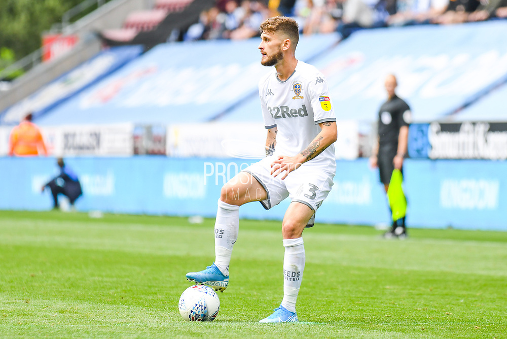 Leeds United midfielder Mateusz Klich (43) in action during the EFL Sky Bet Championship match between Wigan Athletic and Leeds United at the DW Stadium, Wigan, England on 17 August 2019.