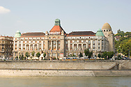 The art deco Gellert Hotel on the Danube River in Budapest, Hungary