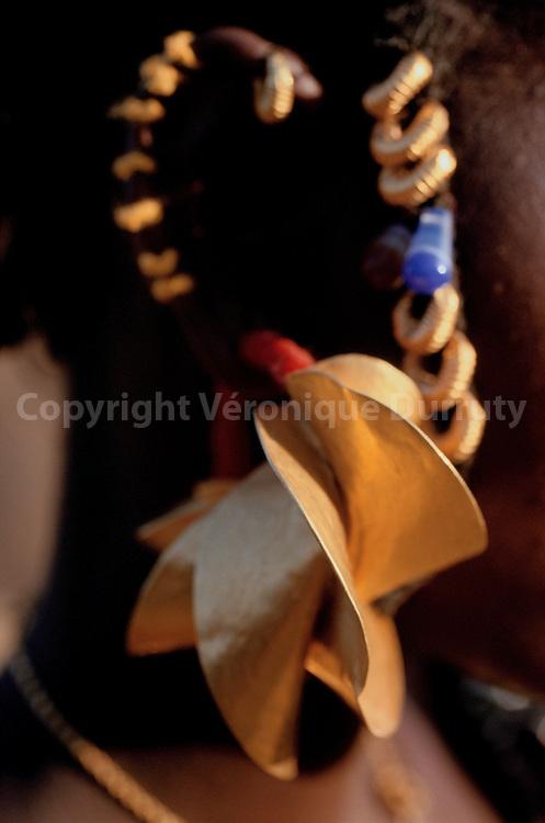 femme du village de Diafarabe..femme du village de Diafarabe