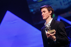Peter Prevc winner of Slovenian sport athlete of the year at Slovenian Sports personality of the year 2016 annual awards presented on the base of Slovenian sports reporters, on December 13, 2016 in Cankarjev dom, Ljubljana, Slovenia. Photo by Grega Valancic / Sportida