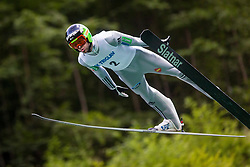Tomaz Naglic during Ski Jumping Continental Cup, on July 7th, Kranj, Slovenia. Photo by Ziga Zupan / Sportida