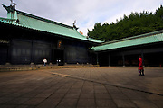 Yushima Seido located in the Yushima neighbourhood of Bunkyo, Tokyo, Japan, was constructed by Hayashi Razan as a Confucian temple in the Genroku era of the Edo period (end of the 17th century). It was closed in it was closed in 1871 after the Meiji Restoration.....Apparently it was used as a location in the TV series Monkey during the 1970s, and today is used as a place of prayer for students studying for exams...