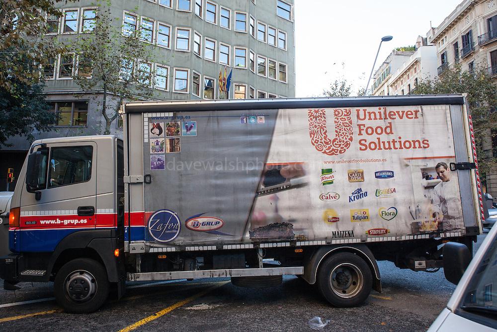 Unilever Food Solutions truck, Barcelona