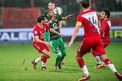 24-01-2018 NED: FC Utrecht - Feyenoord, Utrecht<br /> Utrecht speelt 1-1 gelijk tegen Feyenoord / Feyenoord defender Jerry St. Juste #4