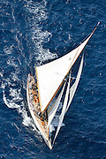 France Saint - Tropez October 2013, Classic yachts racing at the Voiles de Saint - Tropez<br /> <br /> C,8,MOONBEAM IV,35,COTRE AURIQUE/1914,WILLIAM FIFE
