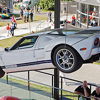 The new Ford GT (2015) at the Goodwood FOS on 28 June 2015
