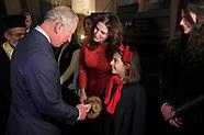 Prince of Wales at Greek church service - 19 Dec 2017