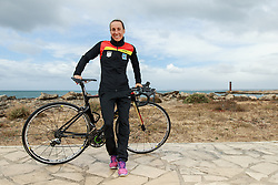 10.03.2016, Colonia di Sant Jordi, ESP, Deutsche Triathlon Nationalmannschaft, Trainingslager, im Bild Anne Haug (GER) // during photocall at the training camp of German Triathlon National Team in Colonia di Sant Jordi, Spain on 2016/03/10. EXPA Pictures &copy; 2016, PhotoCredit: EXPA/ Eibner-Pressefoto/ Sch&uuml;ler<br /> <br /> *****ATTENTION - OUT of GER*****