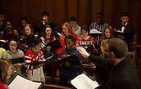 St Paul's School Christmas Feast and Choir practice.  ©2019 Karen Bobotas Photographer