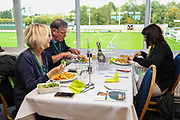 VIP dining during the EFL Sky Bet League 2 match between Forest Green Rovers and Crawley Town at the New Lawn, Forest Green, United Kingdom on 22 September 2018.