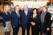 Johanna Clancy, Chair SCCUL Board, Michael Smith, , Celebrity Judge Gavin Duffy, Phil Grealish, Board member and Aisling Conroy, Board member at the The SCCUL Entreprise awards and Business Expo in the Bailey Allen Hall in NUIG. Photo:Andrew Downes, xposure