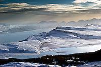Isle of Raasay from Tottrome, Isle of Skye, Scotland.