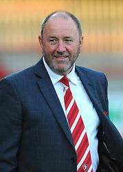 Cheltenham Town manager Gary Johnson - Mandatory by-line: Nizaam Jones/JMP - 15/08/2017 - FOOTBALL - LCI Rail Stadium - Cheltenham, England - Cheltenham Town v Swansea City U21 - Checkatrade Trophy
