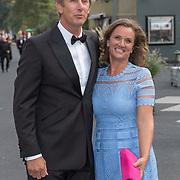 NLD/Hilversum/20180903 -   Voetbalgala 2018, Edwin van der Sar en partner Annemarie van Kesteren