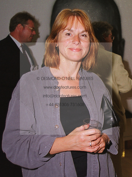 MRS MARJORIE ALLTHORPE-GUYTON Director Visual Arts, Arts Council of England, at an exhibition in London on 15th June 1999.MTJ 81 wo