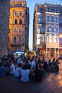 Turkey. Istambul. Beyoglu district.