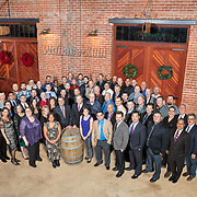 Wallace Kuhl, West Sacramento, Elevation Ten Winery, Christmas Party Company Group Photo, 2016