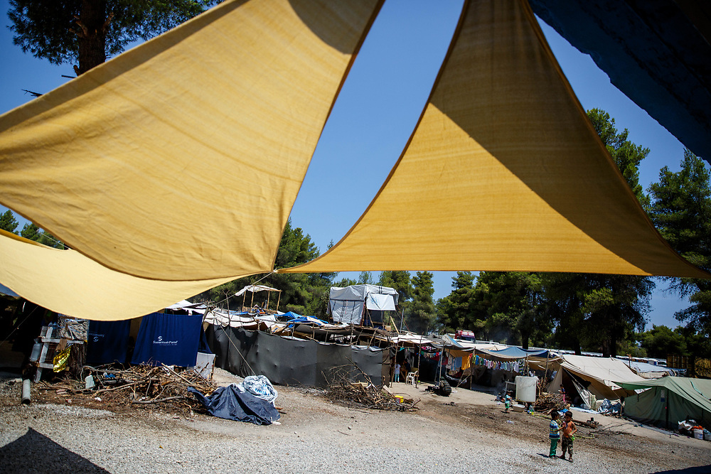 2016 July-Ritsona Refugee Camp, Ritsona, Greece.