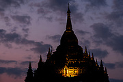 Pahtothamaya Temple view at sunrise, Bagan, Myanmar