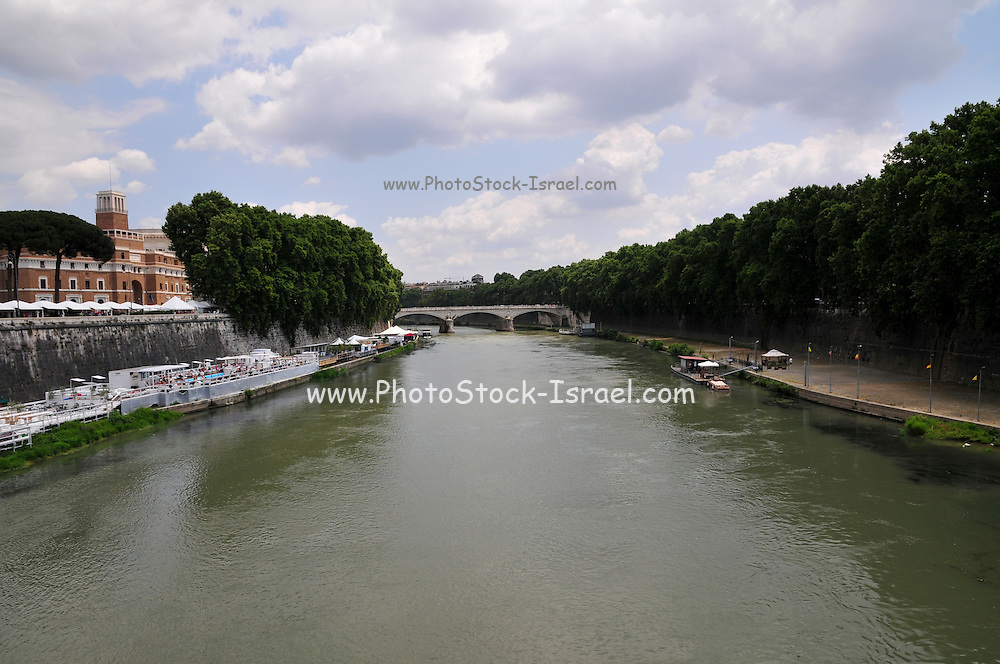 Rome, Italy The Tiber River