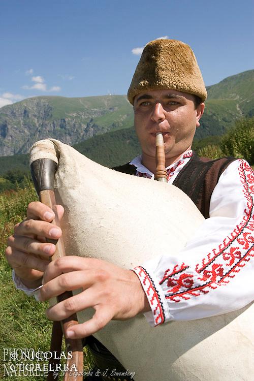 La gaida est un instrument à vent traditionnel du sud de la Bulgarie ressemblant à une cornemuse