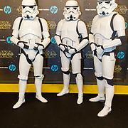 NLD/Amsterdam/20151215 - première van STAR WARS: The Force Awakens!, Sandtroopers