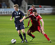 Josh Skelly - Dundee v Aberdeen, SPFL development league<br />