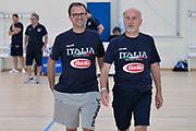 Mario Fioretti, Giordano Consolini<br /> Raduno Nazionale Maschile Senior<br /> Allenamento <br /> Roma, 16/08/2017<br /> Foto GiulioCiamillo / Ciamillo-Castoria