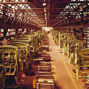 Studebaker Stamping/Press shop, October, 1963