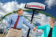 Irene and Jerry Helms - Carowinds