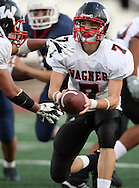 Quarterback Chris Cromwell threw 2 touchdowns during game action completing 4 for 12 for 93 yards, Season finale, matches up Roosevelt Rough Riders vs. Wagner Thunderbirds, 10 November 2007, Comalander Stadium, San Antonio, TX, Texas High School Football , Roosevelt 37, Wagner 25.