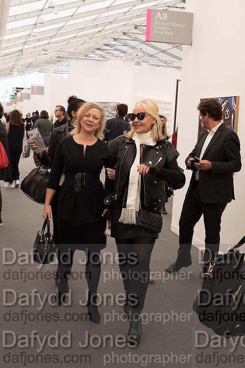 KAY SAATCHI; AMANDA ELIASCH, Frieze 2016, Regent's Park. London,